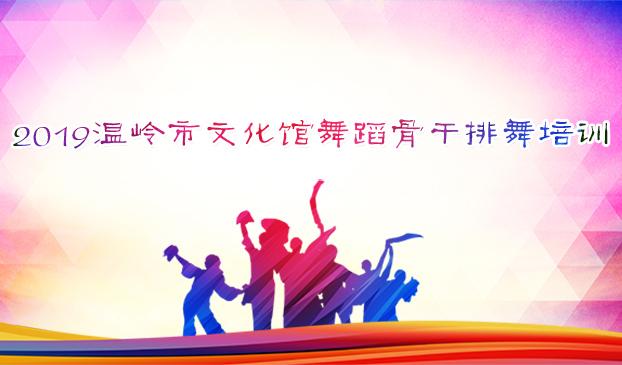 2019温岭市文化馆舞蹈骨干排舞培训